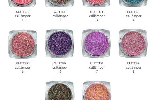 extremenails glitter csillampor webshop