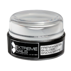 french gel builder snow white